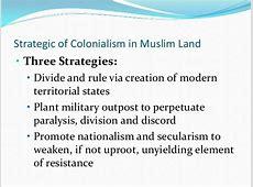Umat islam dan kuasa zionis