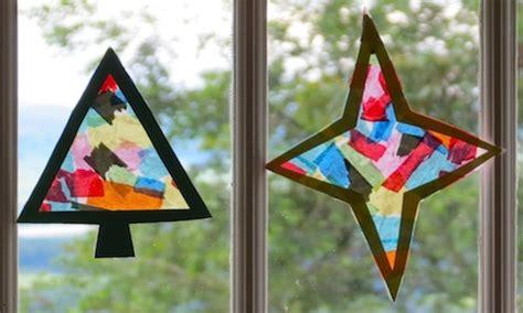 Tissue Paper Lanterns, Preschool Christmas Crafts Jesus