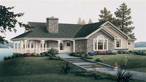 images one level country house plans country cottage house plans with porches tiny