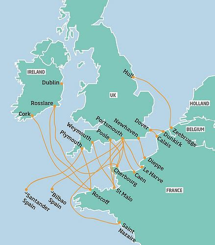 Ferry England To Ireland by Ferries To France A Guide For Cyclists Freewheeling France