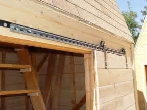 comment construire une grange avec porte coulissante faites le vous m 234 me el de bricolage