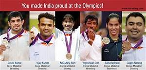 Indian Medal Winners in Olympics 2012 | Data Diary
