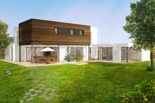 maison melesse plan de maison moderne par archionline