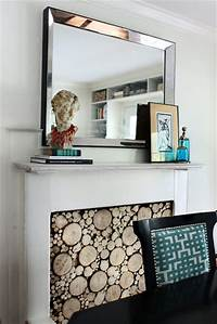 faux fireplace ideas Faux Fireplace Ideas and Projects | Decorating Your Small ...