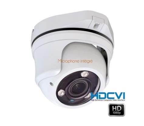 233 ra de surveillance avec micro d 244 me hdcvi 1080p varifocale