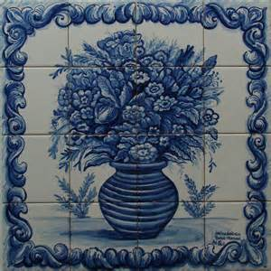 les azulejos portugais fresques murales en faience 233 maill 233 e peinture personnalis 233 e