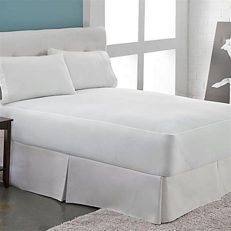 fit 174 microfleece waterproof mattress protector
