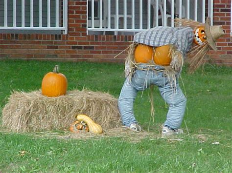Homemade Halloween Lawn Decorations