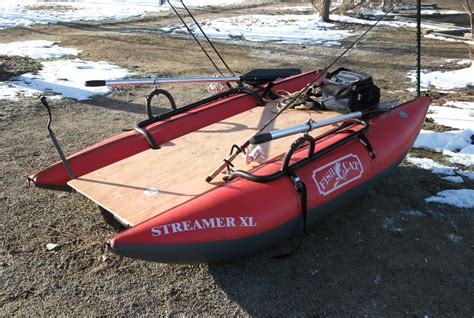 Inflatable Pontoon Boat Modifications by Coloradocasters Pontooner Update Fine Tuning The Mods