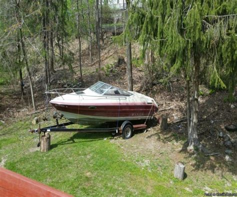 Cuddy Cabin Boats For Sale Ny by 1990 20 Foot Maxum Cuddy Cabin Power Boat For Sale In