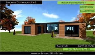 nouveaux mod 232 les et photos de maisons bois modernes contemporaines et design www