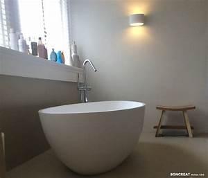 Beton Cire Verarbeitung : beton cire by boncreations beton cir badkamer ~ Markanthonyermac.com Haus und Dekorationen