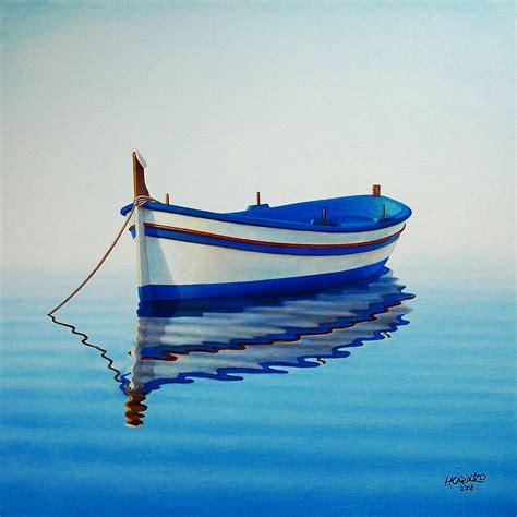 Fishing Boat Art by Fishing Boat Ii By Horacio Cardozo