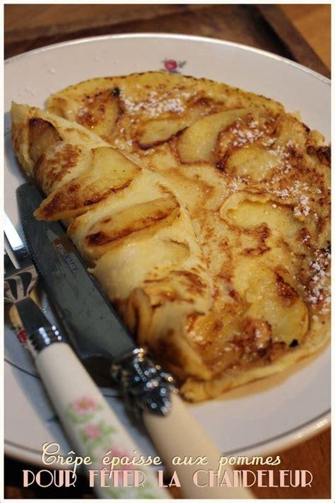 cr 234 pe 233 paisse aux pommes pour la chandeleur recette de laurent mariotte recettes desserts
