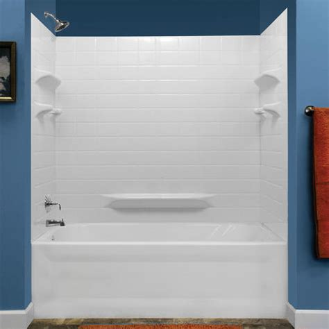 lyons palm springs tile sectional bathtub wall kit at menards 174
