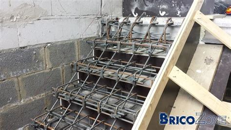 escalier b 233 ton cr 233 maill 232 re coffrage photos a construction