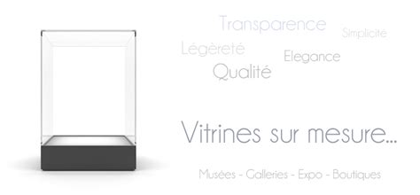 fabrication de vitrines cloches design sur mesure lacrylic
