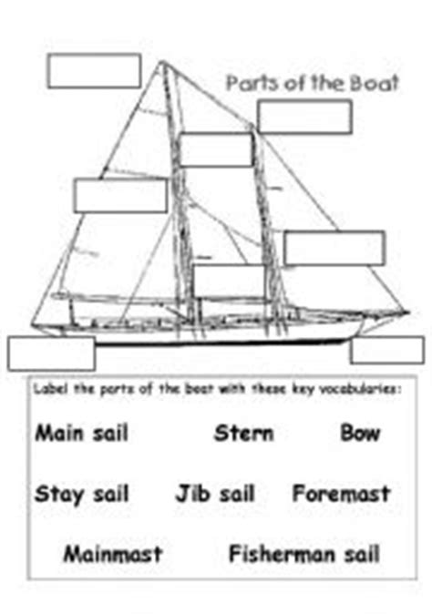 Parts Of A Dragon Boat by Boats Worksheets