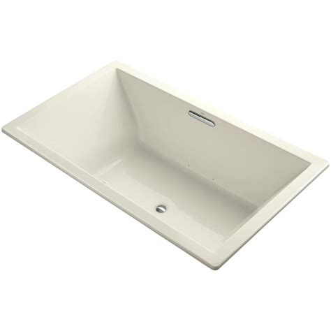 45 ft drop in bathtub kohler underscore 6 ft acrylic rectangular drop in or