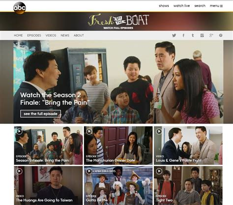 How To Watch Fresh Off The Boat Online by Streaming Fresh Off The Boat Online For Free