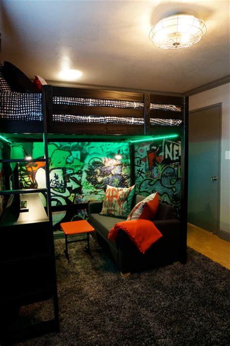 Industrial Teenage Bedroom
