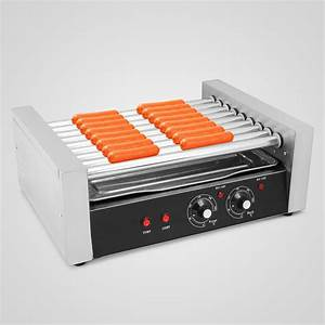 Hot Dog Machen : commercial sausage hotdog 9 roller grill hot dog cooker machine warmer ebay ~ Markanthonyermac.com Haus und Dekorationen