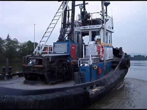 Tug Boat Accidents Youtube by Fraser River Tug Boats Youtube