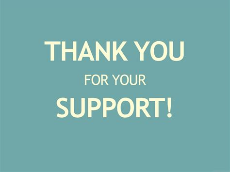 Thank You For Your Support Desicommentscom