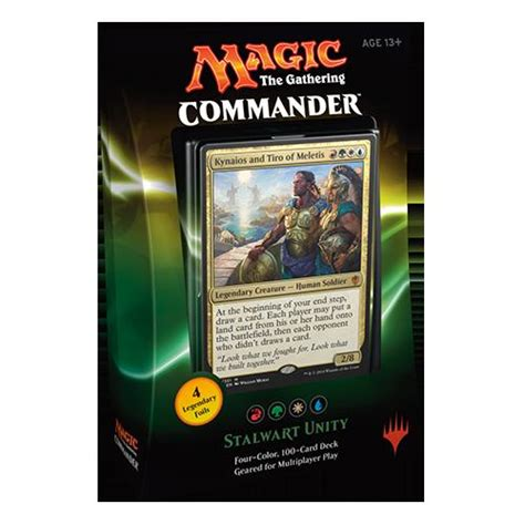 mtg magic the gathering commander 2016 100 card deck