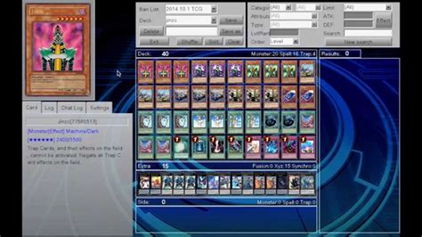 new jinzo support deck profile and otk
