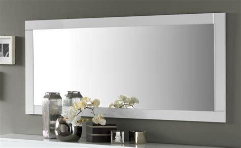 miroir de salle 224 manger rectangulaire 180 cm blanc laqu 233 m 233 gane autres meubles salle a manger