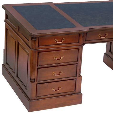 bureau style anglais victorien acajou wingfield meuble de style