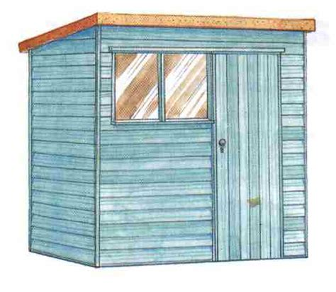 slant roof shed plans playhouse for building construction page 2