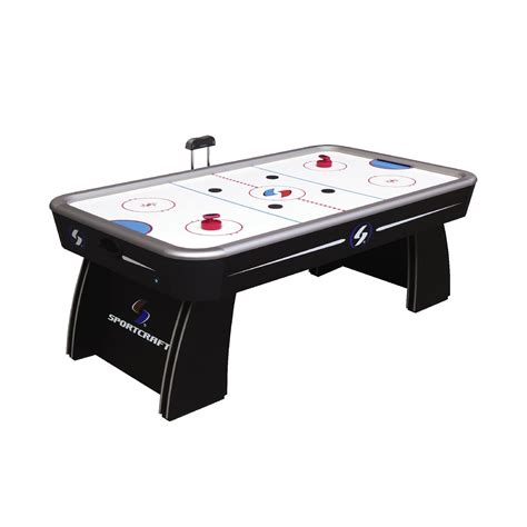 Sportcraft 7 Ft Classic Electronic Air Hockey Table. Small Tables And Chairs. Glass Top Drafting Table. Unfinished Wood Pedestal Table Base. Executive Desks For Home. Wood Swivel Desk Chair. Rectangle Glass Coffee Table. Glass Computer Desk With Drawers. 12 Table Saw