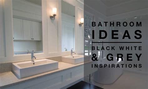 Black White & Grey Colour Palette
