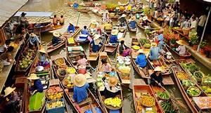 Experience Bangkok's floating markets