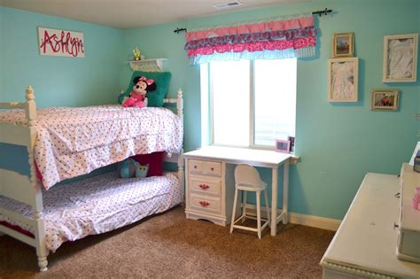 Girls Bedroom : Hot Pink And Turquoise Girls Bedroom