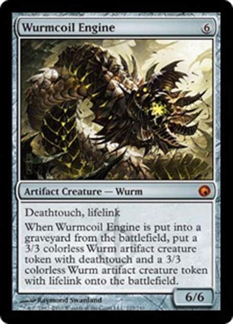 wurmcoil engine scars of mirrodin gatherer magic