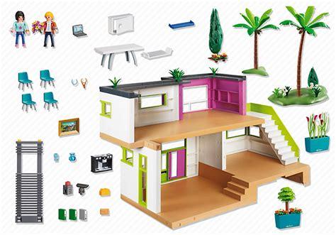 playmobil 5574 maison moderne achat vente univers miniature cdiscount