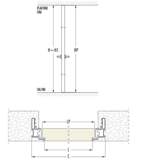 hauteur porte de garage standard obasinc