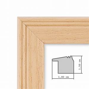 Bilderrahmen A4 Holz : 3er set landhaus bilderrahmen 21x30 cm din a4 holz natur massivholz mit glasscheibe und ~ Markanthonyermac.com Haus und Dekorationen
