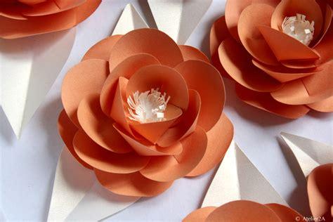 cr 233 ation fabrication de fleurs en papier pour une d 233 coration 233 v 233 nementielle fleur en papier