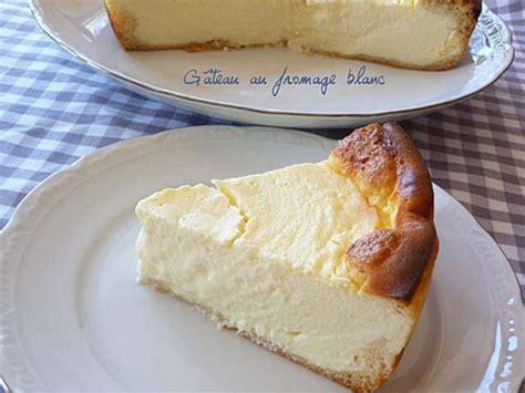 gateau leger au fromage blanc
