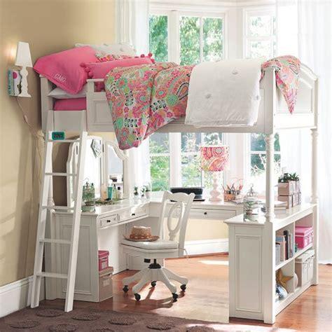 chelsea vanity loft bed