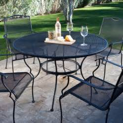 Metal Patio Furniture Sets by Patio Wrought Iron Patio Dining Set Home Interior Design