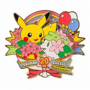 Pokémon Pins: Pokémon Center 20th Anniversary – Poké ...