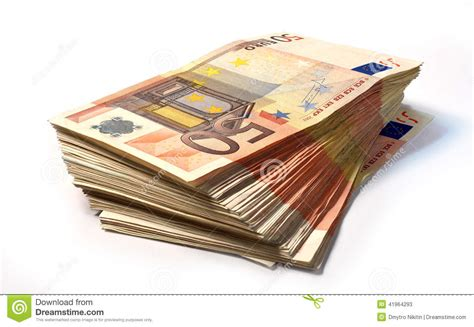 50 Euro Notes Stock Photo  Image 41964293