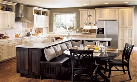 sofa table with stools kitchen island with booth seating kitchen islands with seating kitchen