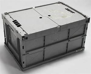 Klappbox Mit Deckel : klappbox 60x40x32 hellgrau mit deckel ebay ~ Markanthonyermac.com Haus und Dekorationen