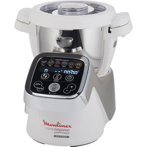 moulinex cuisine companion le robot design qui cuisine 224 votre place